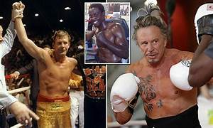 Mickey Rourke set to revive his boxing career after twenty ...