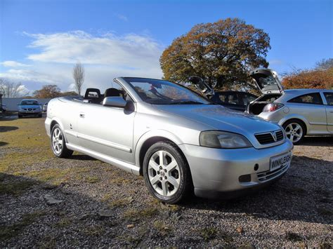 vauxhall convertible 2003 vauxhall astra coupe convertible petrol manaul 1 8 ebay