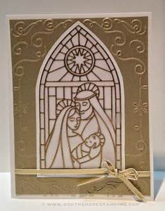 Christmas Card using the Stampin Up set Gentle Peace by