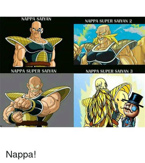 Nappa Meme - 25 best memes about nappa super saiyan 3 nappa super saiyan 3 memes