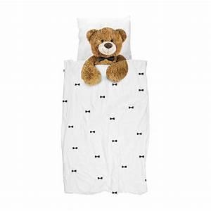 200 Cm Teddy : snurk bettw sche teddy 135 x 200 cm 100 baumwolle deko ambiente wohntextilien bettw sche ~ Frokenaadalensverden.com Haus und Dekorationen