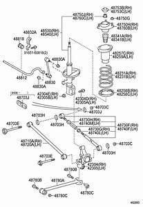 1995 Toyota Camry Rear Suspension Diagram