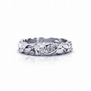 diamond rose wedding ring jewelry designs With rose wedding ring