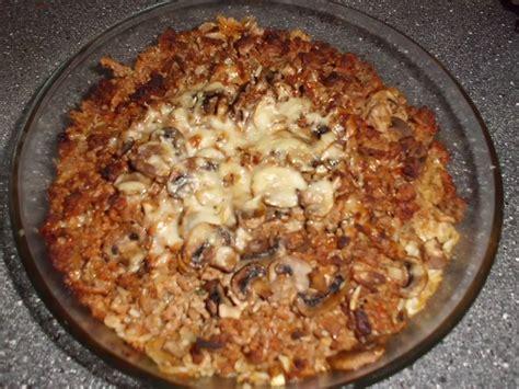 gratin pates et viande hachee gratin de viande hach 233 e chignons et gruy 232 re les exp 233 riences culinaires de chau7
