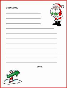 Free coloring pages of letters to santa for Dear santa claus letter