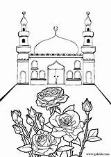 Coloring Mosque Islamic Pages Ramadan Sheets Printable Eid Mosques Bunch Crafts Drawing Muslim Raskraski Studies Few Sheet Print Easy Coloriage sketch template