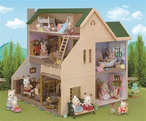 epoch sylvanian families sylvanian family green hill house