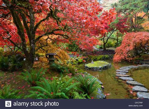 Garten Auch Im Herbst by Japanischer Garten Im Herbst Am Butchart Gardens