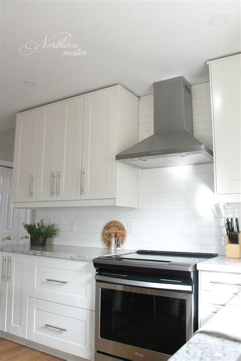 white kitchen cabinets images ikea kitchen reno before after white 1355
