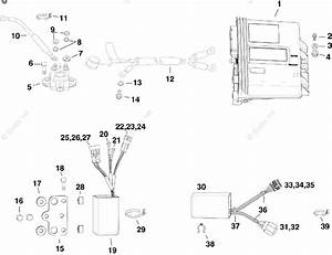 Evinrude Outboard Parts By Year 2012 Oem Parts Diagram For