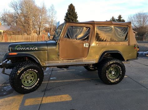 2017 jeep scrambler for sale 1982 jeep cj 8 scrambler hard and soft top for sale