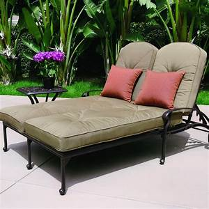 Lounge Sofa Outdoor : darlee elisabeth 2 piece cast aluminum patio double chaise lounge set ultimate patio ~ Frokenaadalensverden.com Haus und Dekorationen