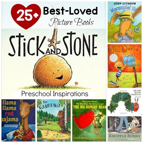 best loved circle time books preschool inspirations 516 | 25 Best Loved Picture books for children