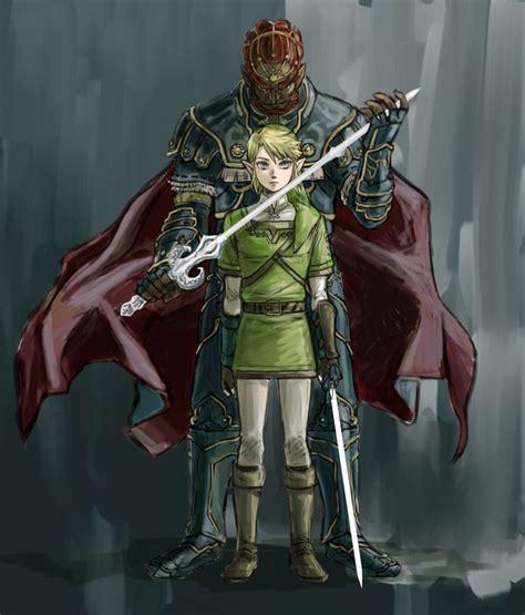 Ganondorf And Link By Edit5 The Legend Of Zelda