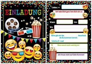 Kindergeburtstag 12 Jährige Jungs : 8 einladungskarten kino film geburtstag kinder kindergeburtstag einladungen eur 5 40 picclick de ~ Frokenaadalensverden.com Haus und Dekorationen