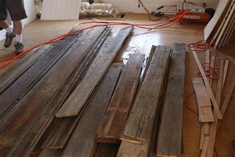 builtin bookcase  salvaged barn wood ceiling  malibu
