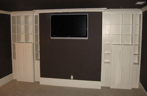 Home Theater Cabinets by Media Room Cabinets Contemporary Home Theater