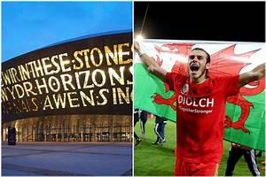 Welsh Landmarks To Turn Red In Support Of Wales At Euro 2016