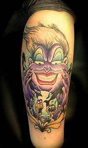 LOVE this Ursula tattoo, ugh I wish I could get her and ...