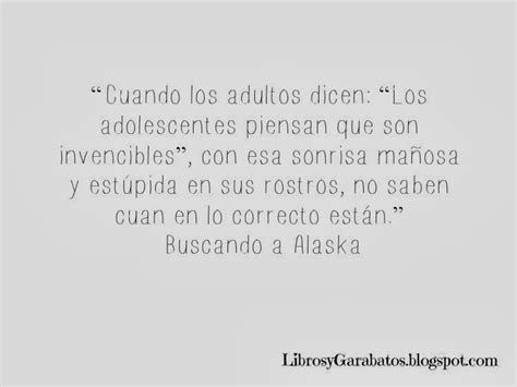 looking for alaska resumen por capitulos 28 images la