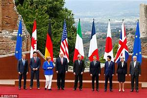 Trump ends charm offensive in Italy with G7 meeting ...