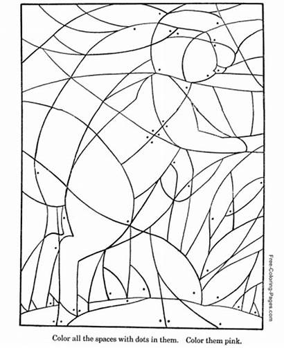 Coloring Hidden Puzzles Puzzle Pages Printable Activity