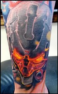 20+ Video Game Tattoos On Leg