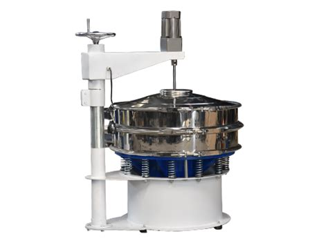 scraper rotary vibrating screen