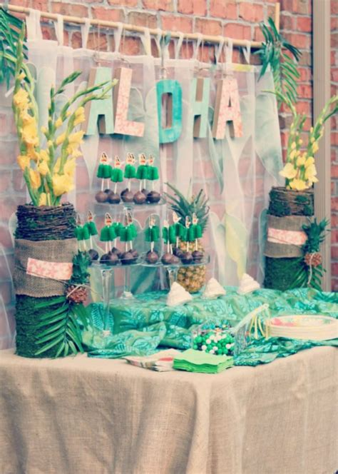 tropical table ls cheap 25 best birthday party ideas for adults tip junkie