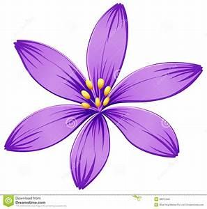Purple petals clipart - Clipground