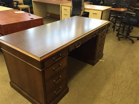 Office Desk by Used Office Desks Executive Desk By Kimball Office