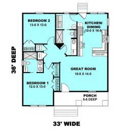 small 2 bedroom 2 bath house plans cottage style house plan 2 beds 2 baths 1073 sq ft plan 44 178