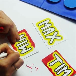 Namensschilder Für Partygäste : das perfekte give away lego geschenkt ten balloonasblog ~ Michelbontemps.com Haus und Dekorationen
