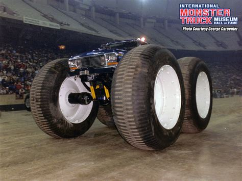 bigfoot 1 monster truck bigfoot 1 international monster truck museum hall of fame