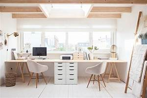 36, Inspirational, Home, Office, Workspaces, That, Feature, 2, Person, Desks