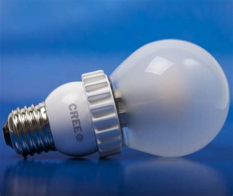 cost of led light bulbs low cost led bulb from cree breaks 10 barrier