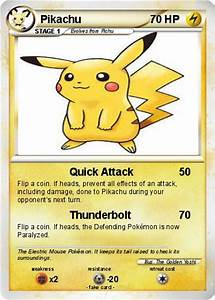 Pokémon Pikachu 14324 14324 - Quick Attack - My Pokemon Card