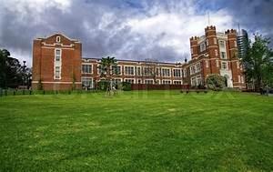 Old high school building in Melbourne Australia | Stock ...