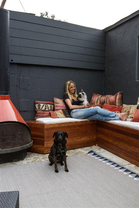 Backyard Built by Sherman Samuel Home Progress Patio Diy Built In