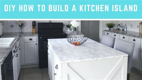 how to build a kitchen island with seating diy how to build a kitchen island easy island with