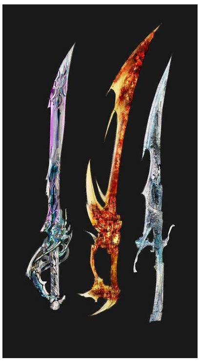 Weapons Fire Water Deviantart Fantasy Elements Air