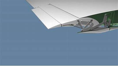 Flaps Google Wings Aviation Animated Pen