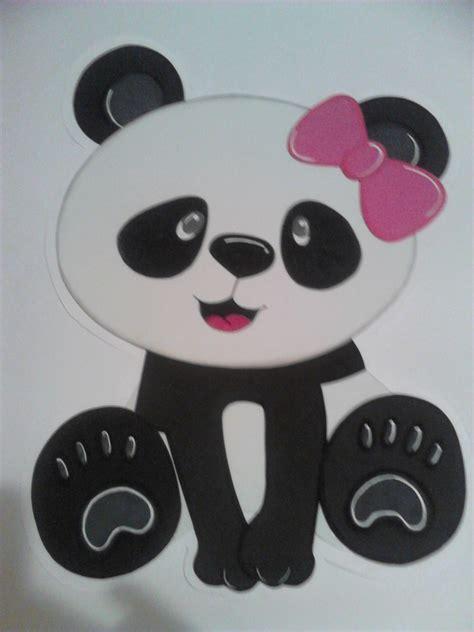 dibujo en foam para pared tem 225 tica de pandas para ni 241 a pi 241 atas y fiestas infantiles