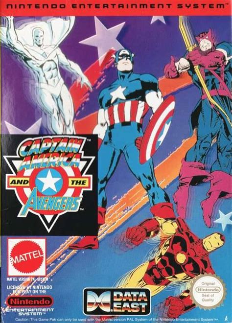 Captain America And The Avengers Usa Rom