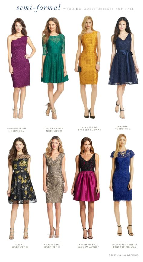 wedding guest dresses for fall what to wear to a semi formal fall wedding