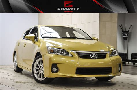 2012 Lexus Ct200h For Sale by 2012 Lexus Ct 200h Stock 051526 For Sale Near