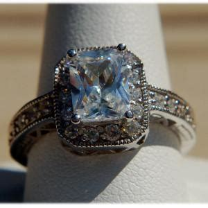ring  ct diamond solitaire ring blue ring pop indian