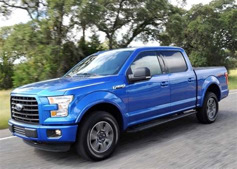 2015 Ford F-150 Earns Epa Rating Of 26 Mpg Highway