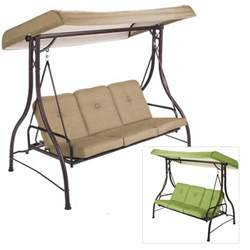 Mainstay Patio Furniture At Walmart by Replacement Canopies For Walmart Swings Garden Winds