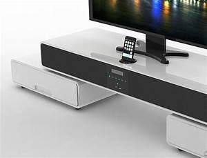 Tv Rack Weiß : tv hifi rack surrey 120 170x37x39 cm hochglanz wei multimedia station wohnbereiche wohnzimmer ~ Whattoseeinmadrid.com Haus und Dekorationen